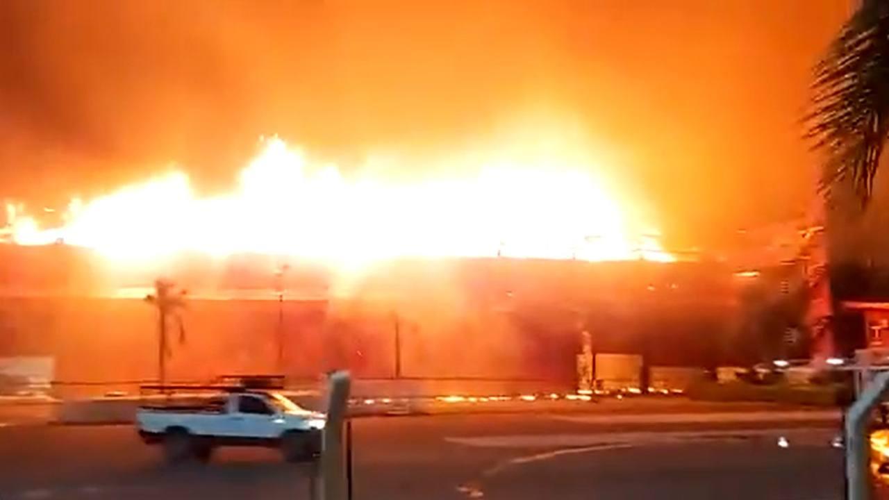 El circuito de Termas de Río Hondo acaba casi arrasado por un incendio