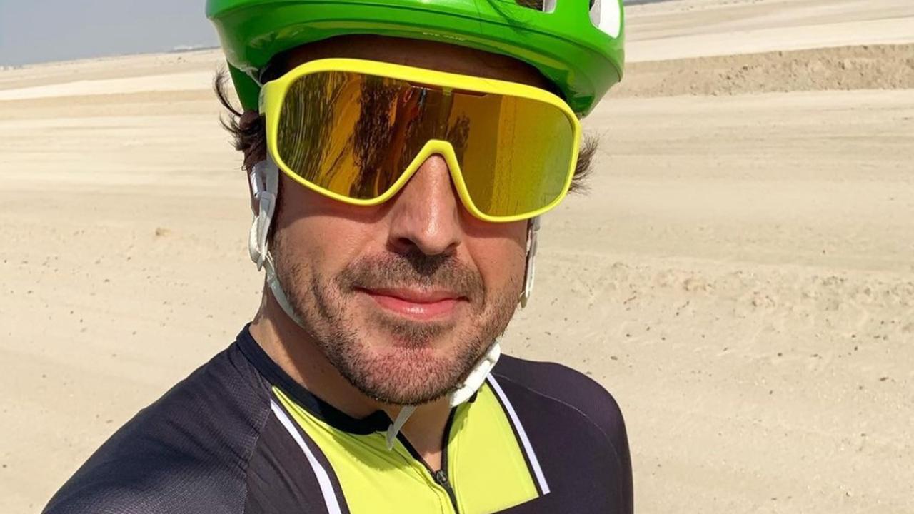 Fernando Alonso, atropellado mientras se entrenaba en bici