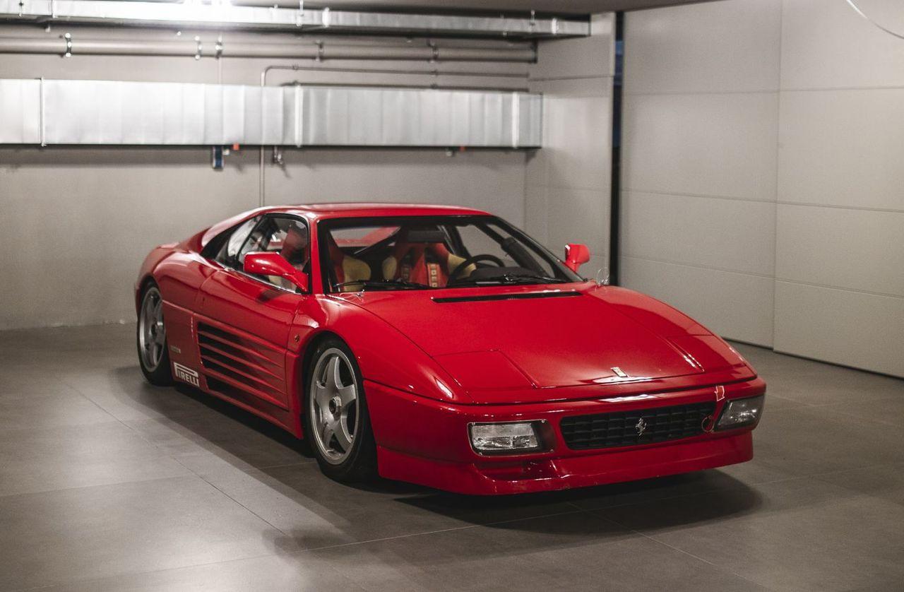 A subasta uno de los raros Ferrari 348 GT Competizione fabricados por Michelotto