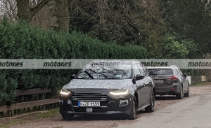 La gama Focus será actualizada, fotos espía del Ford Focus SportBreak Active 2022