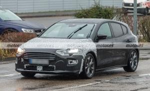 Nuevas fotos espía del Ford Focus Facelift 2022, el compacto luce nueva imagen