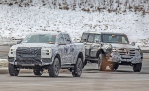 El Ford Ranger Raptor y el Ford Bronco Warthog cazados durante sus últimas pruebas