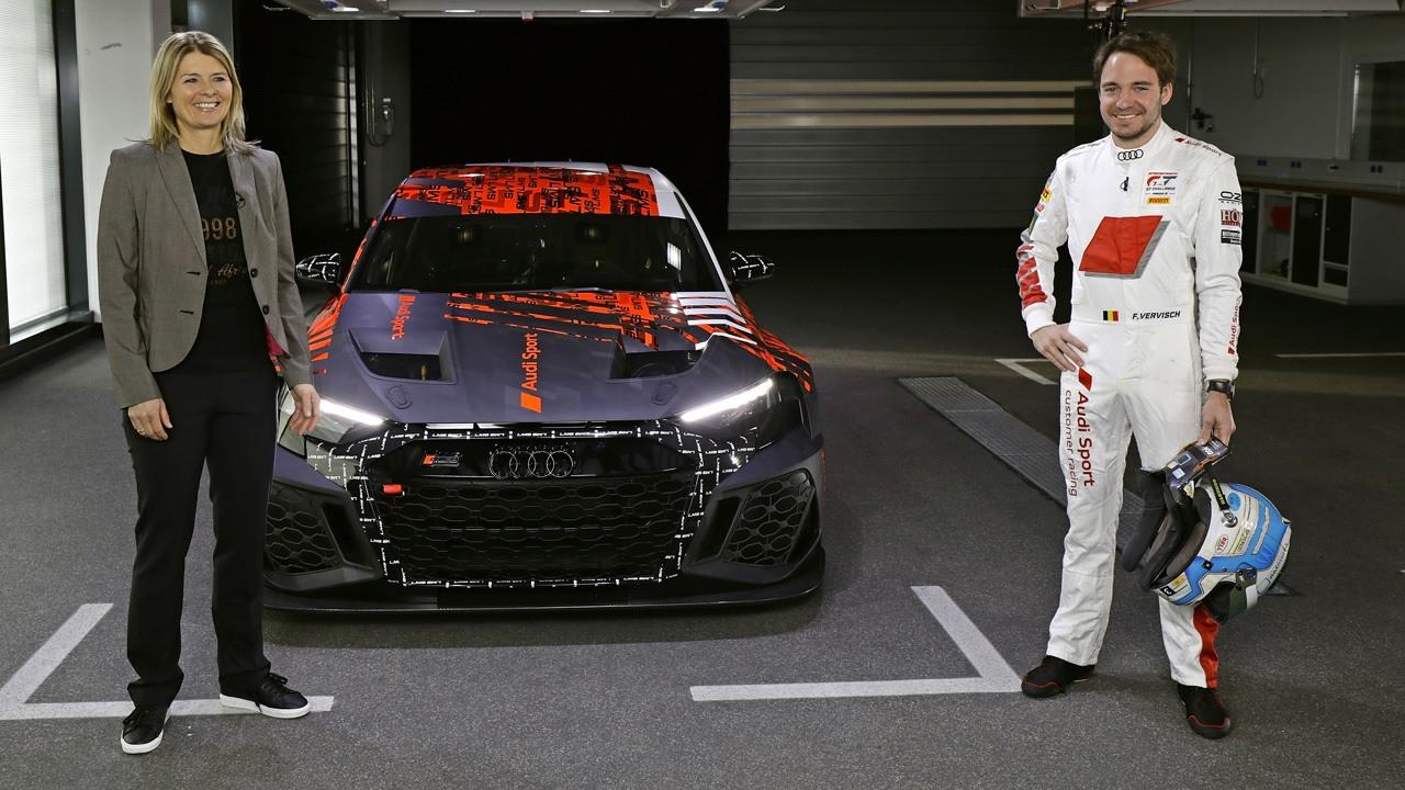 Frédéric Vervisch, el piloto que está detrás del nuevo Audi RS 3 LMS TCR