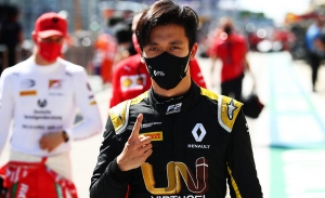 Guanyu Zhou, ante el reto de ser el primer piloto chino en llegar a la Fórmula 1