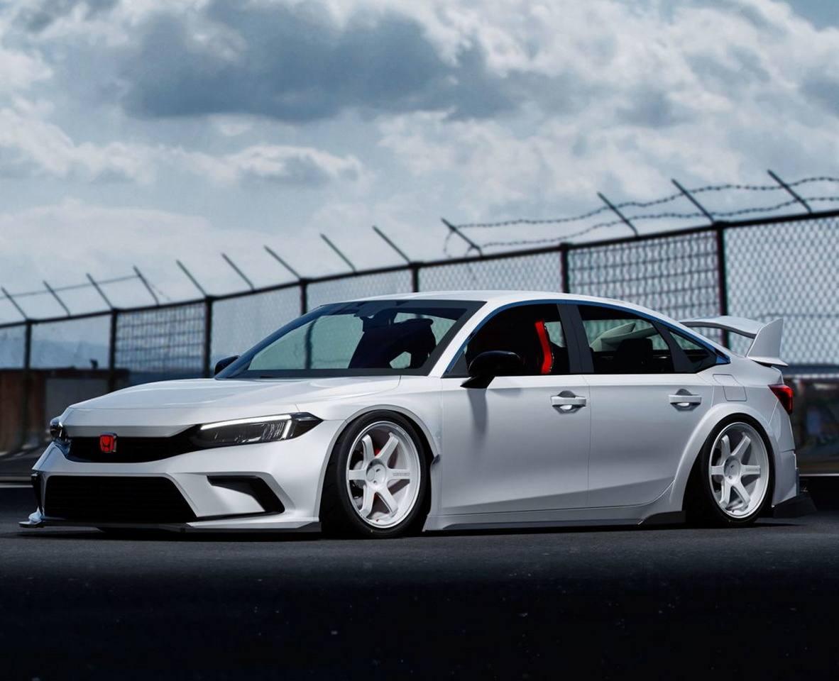 Primeras recreaciones del Honda Civic Type-R de nueva generación
