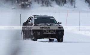 Un prototipo del Hyundai Santa Cruz 2021, el pick-up, cazado al norte de Suecia