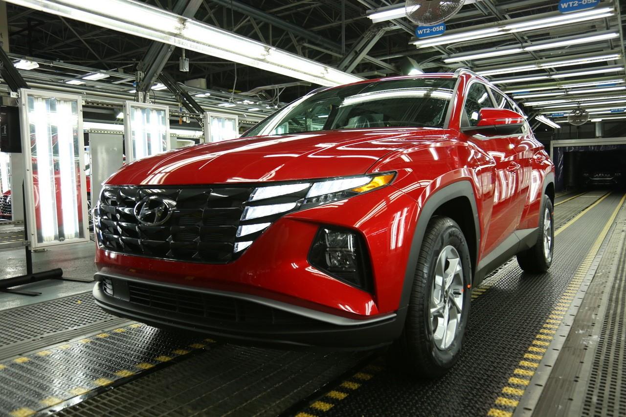 El Hyundai Tucson 2022 comienza su producción en Estados Unidos