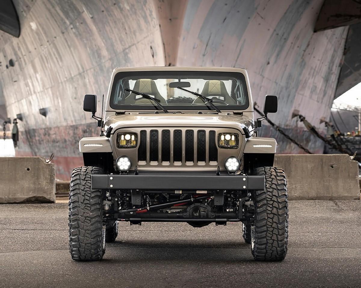 Este kit convierte tu Jeep Wrangler actual en el Jeep clásico de MacGyver