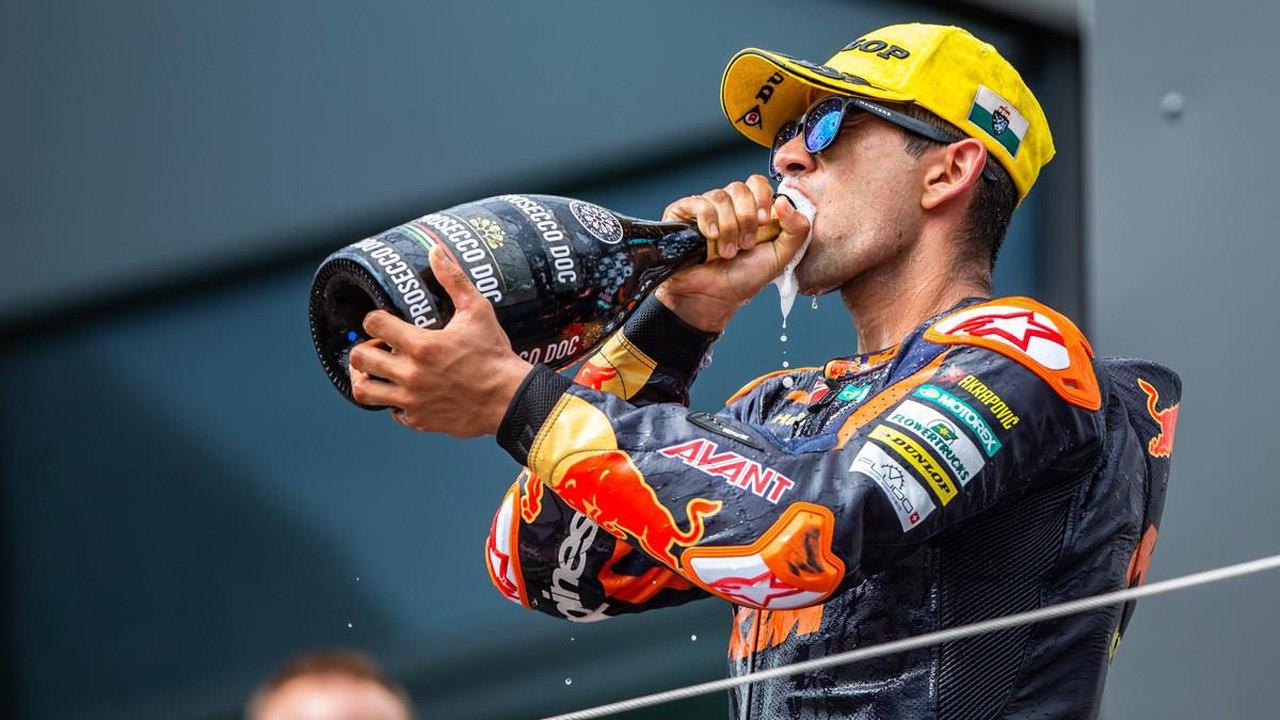 Jorge Martín: «El objetivo en mi debut en MotoGP es ser el mejor 'rookie'»