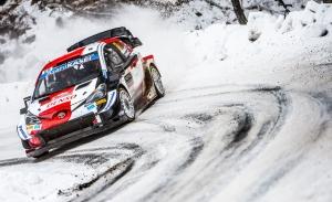Kalle Rovanperä, optimista con sus opciones de podio en el Arctic Rally