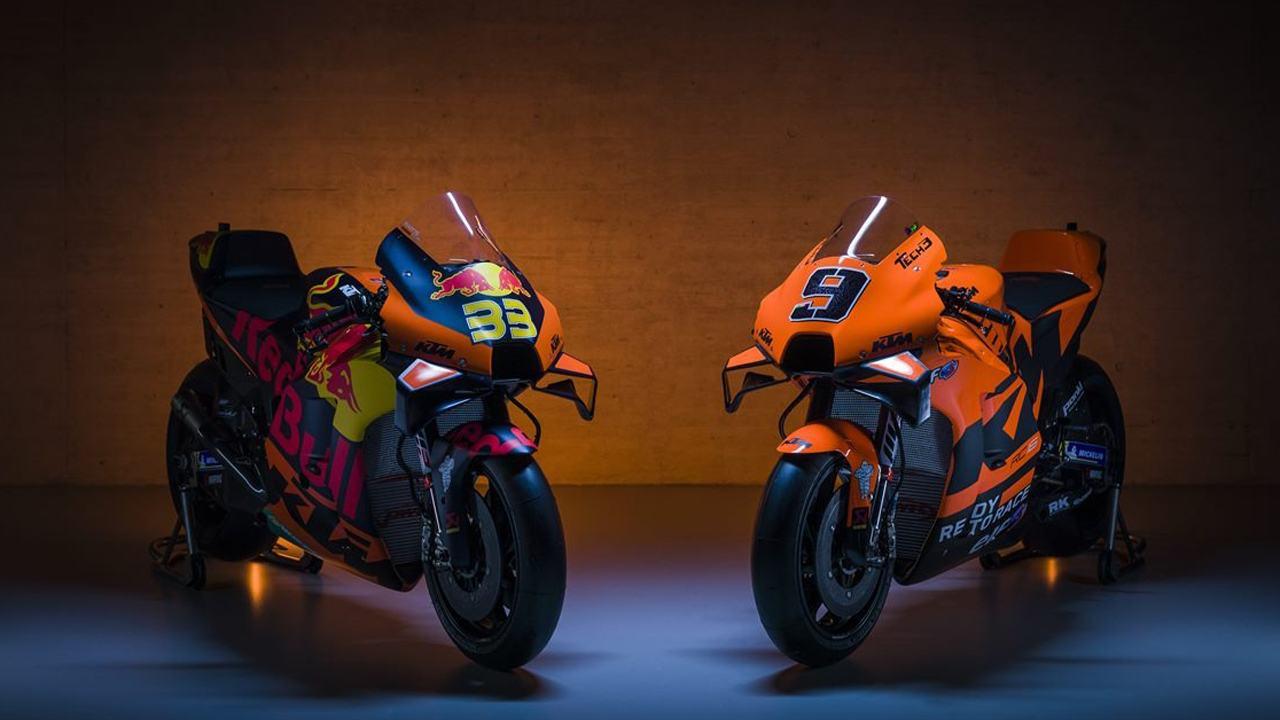 KTM y su equipo satélite Tech 3 presentan sus MotoGP para 2021