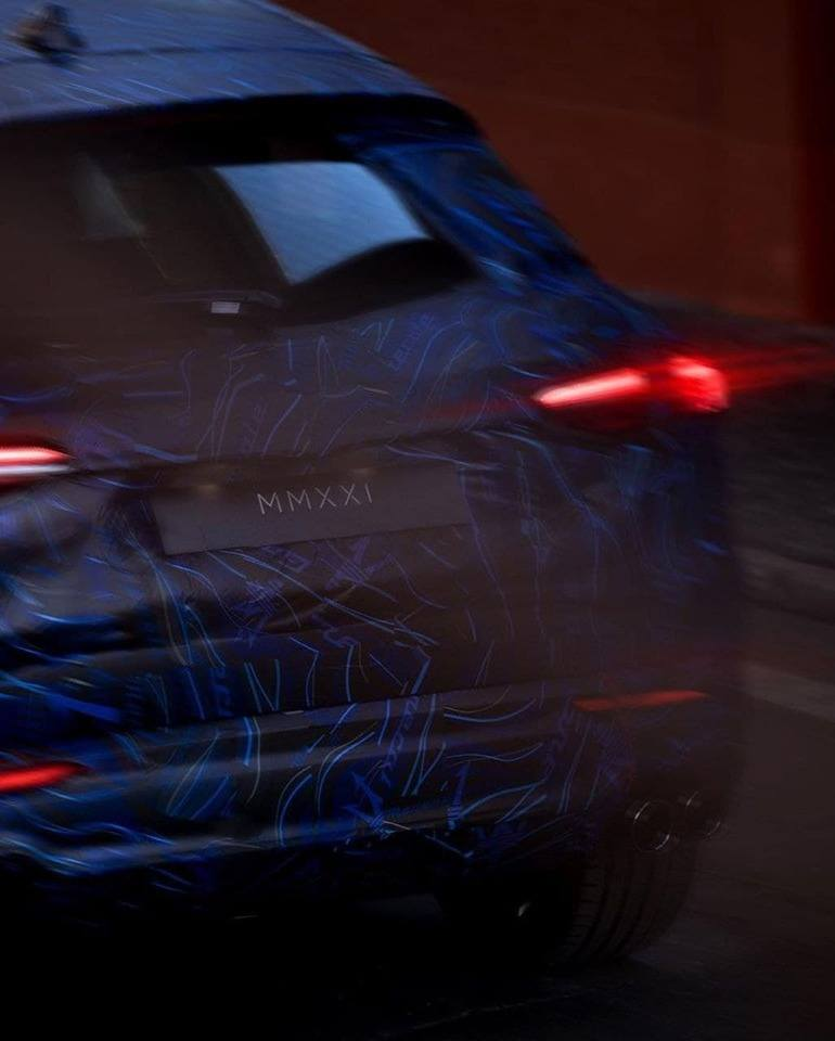 Teaser Maserati Grecale 2021