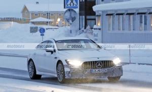El nuevo Mercedes-AMG GT 73 e Berlina, avistado en fotos espía en Suecia