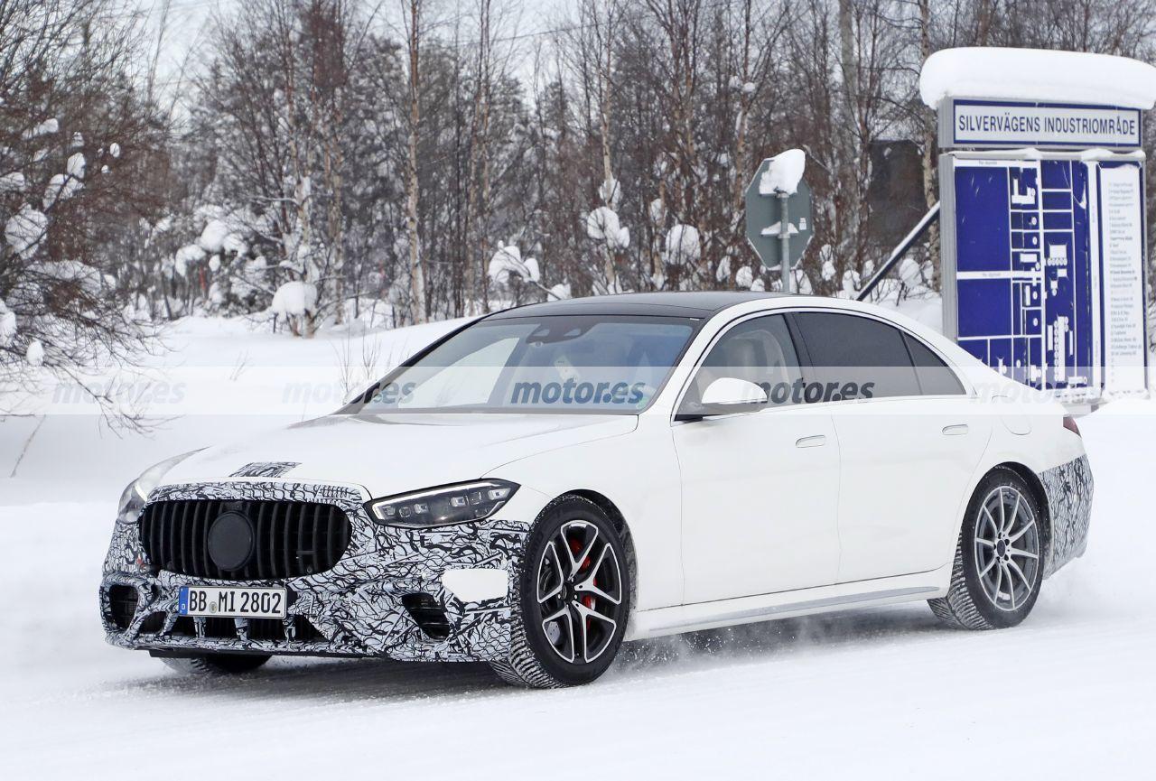Fotos espía Mercedes-AMG S 63 e 4MATIC 2022 - exterior