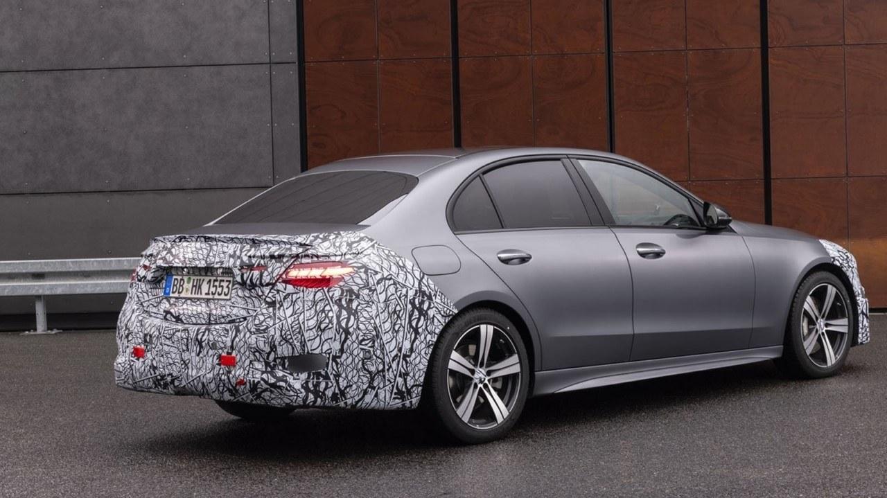 Teaser Mercedes Clase C 2021