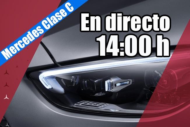 Sigue en directo la presentación de los Mercedes Clase C y Clase C Estate 2021