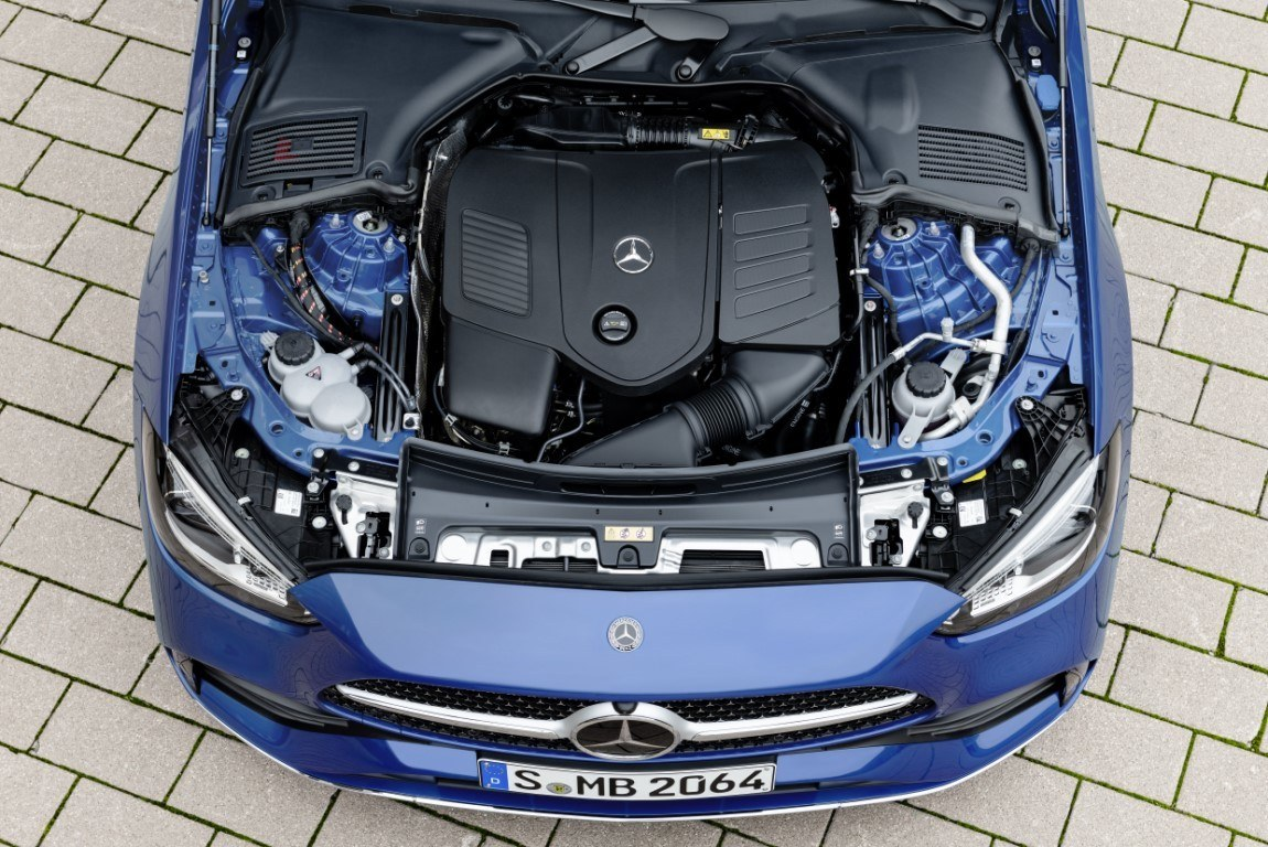 Foto mula Mercedes Clase C - motores