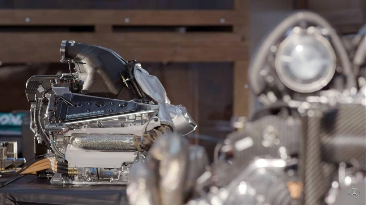 Mercedes afirma tener «algunos problemas» con el motor de 2021