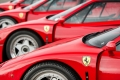 Ferrari Red is not one color ... there are several!  Ferrari shows us on video