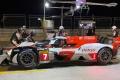 El Toyota GR010 Hybrid completa su primer test nocturno en Aragón
