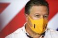 Zak Brown, nervioso ante lo que le espera a McLaren en 2021: «No es lo ideal»