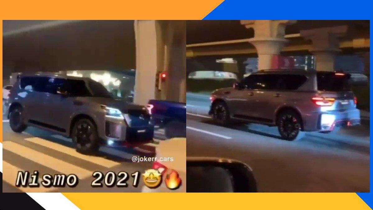 El nuevo Nissan Patrol Nismo de +400 CV ha sido cazado totalmente desnudo [vídeo]