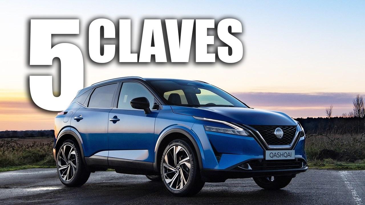Las 5 claves del nuevo Nissan Qashqai 2021, la renovación del SUV japonés