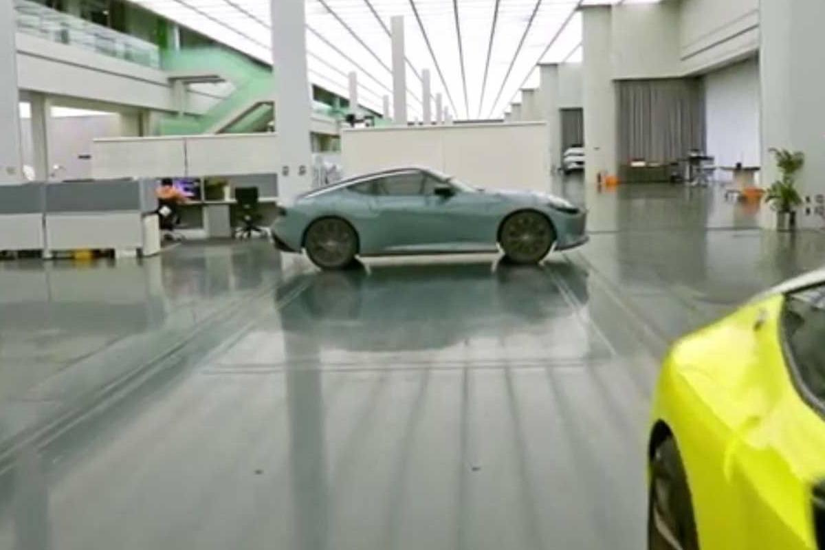 Nissan filtra una misteriosa unidad del Z Proto ¿Primera imagen del Nissan 400Z?