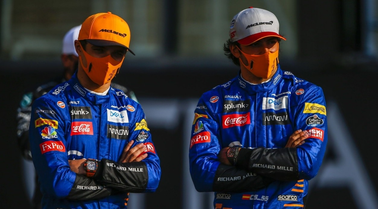 Norris y la llegada de Ricciardo a McLaren: «Tiene algo que Sainz no tiene»