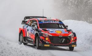 Ott Tänak lidera un shakedown del Arctic Rally lleno de sobresaltos