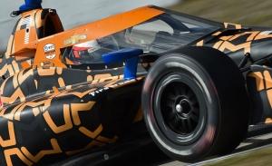 Pato O'Ward pone freno a Alexander Rossi en los test de Sebring
