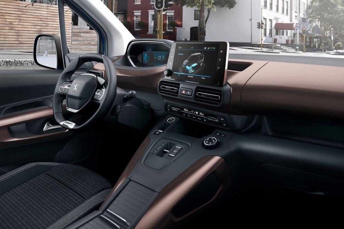 Foto Peugeot e-Rifter - interior