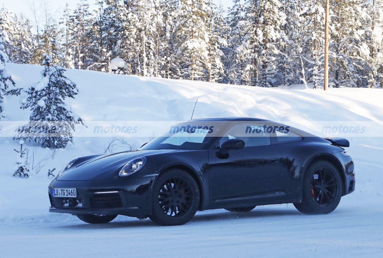 Spy photo Porsche 911 Safari - exterior