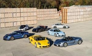 La colección más espectacular de clásicos modernos de Porsche a subasta