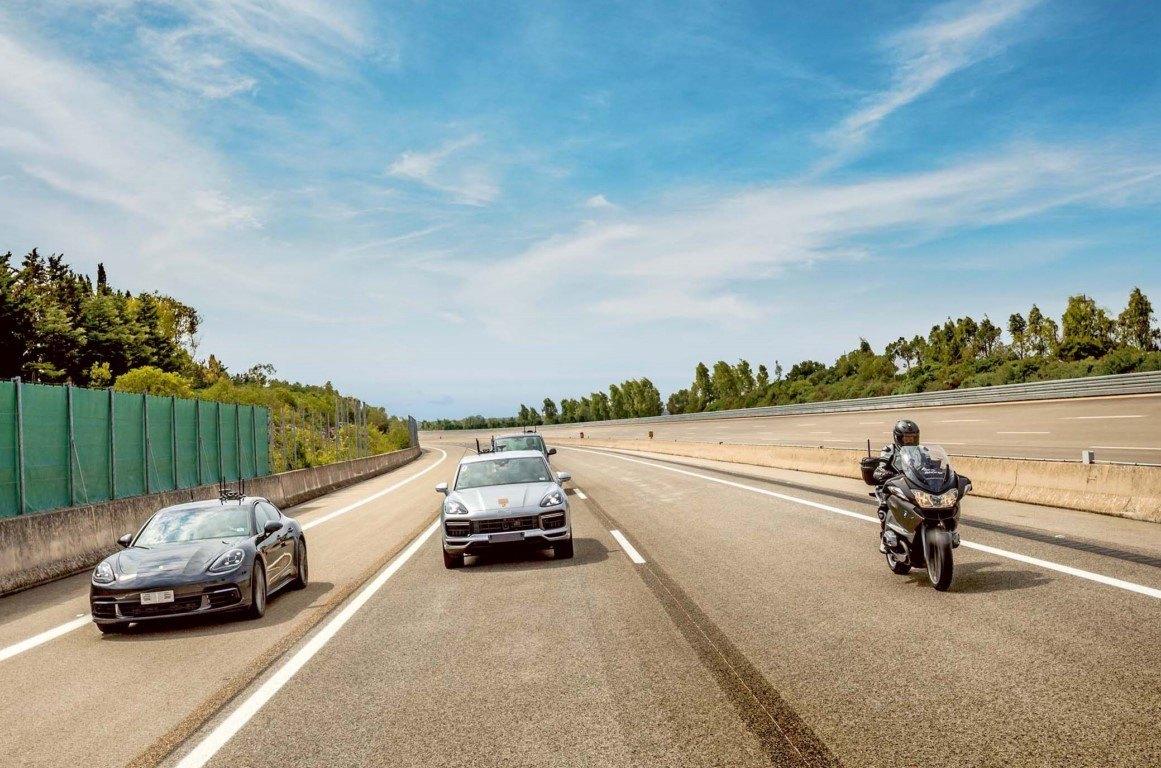 Porsche confirma pruebas de conducción autónoma de nivel 4 en su centro de Nardò