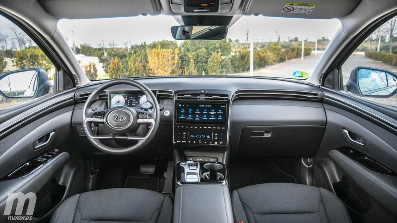 Hyundai Tucson Híbrido - interior
