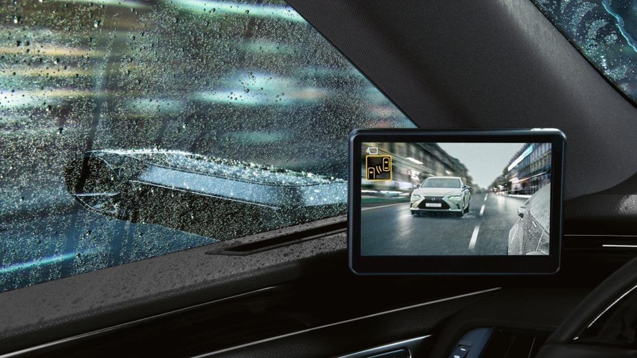 Lexus ES 300h 2021 - espejos retrovisores digitales
