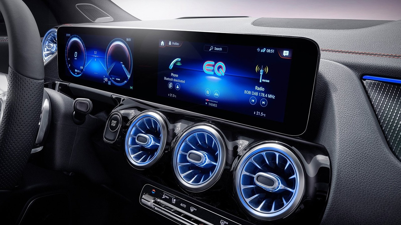 Mercedes EQA - interior
