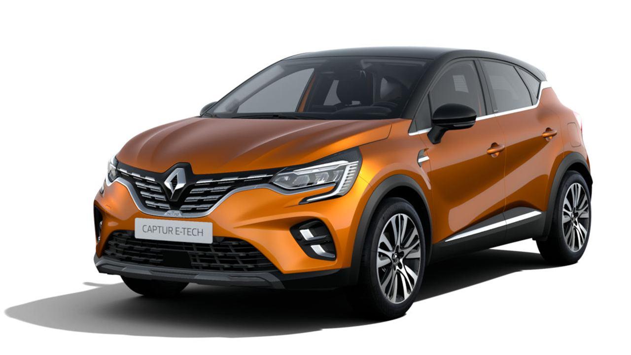 El Renault Captur E-Tech más lujoso, el acabado Initiale Paris llega a la gama