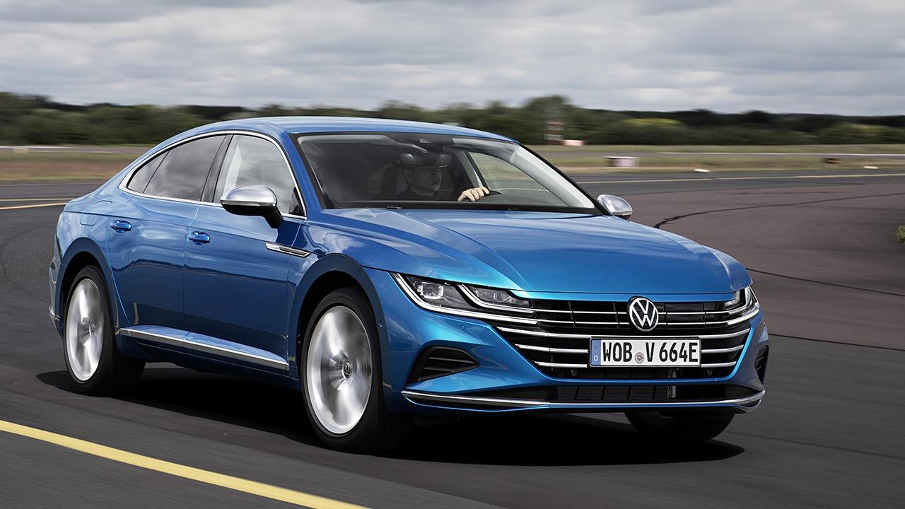 Volkswagen Arteon eHybrid, todos los precios de la nueva berlina híbrida enchufable