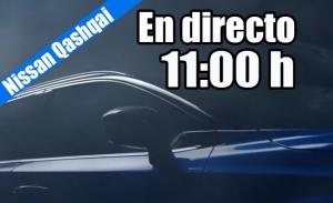 En directo, presentación mundial del nuevo Nissan Qashqai 2021