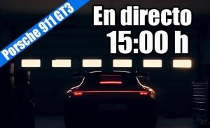 Sigue en directo la presentación mundial del nuevo Porsche 911 GT3