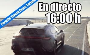 Sigue en directo la presentación del nuevo Porsche Taycan Cross Turismo