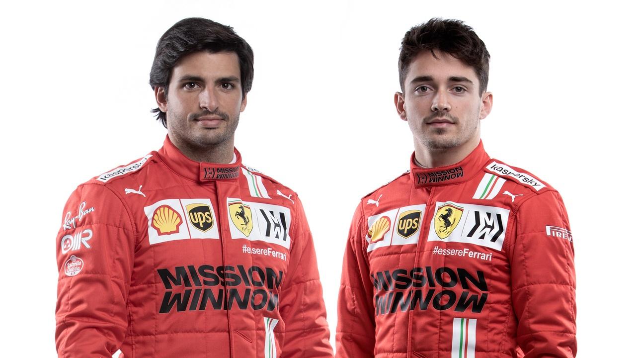 Así ha sido la presentación de la Scuderia Ferrari 2021 de Sainz y Leclerc