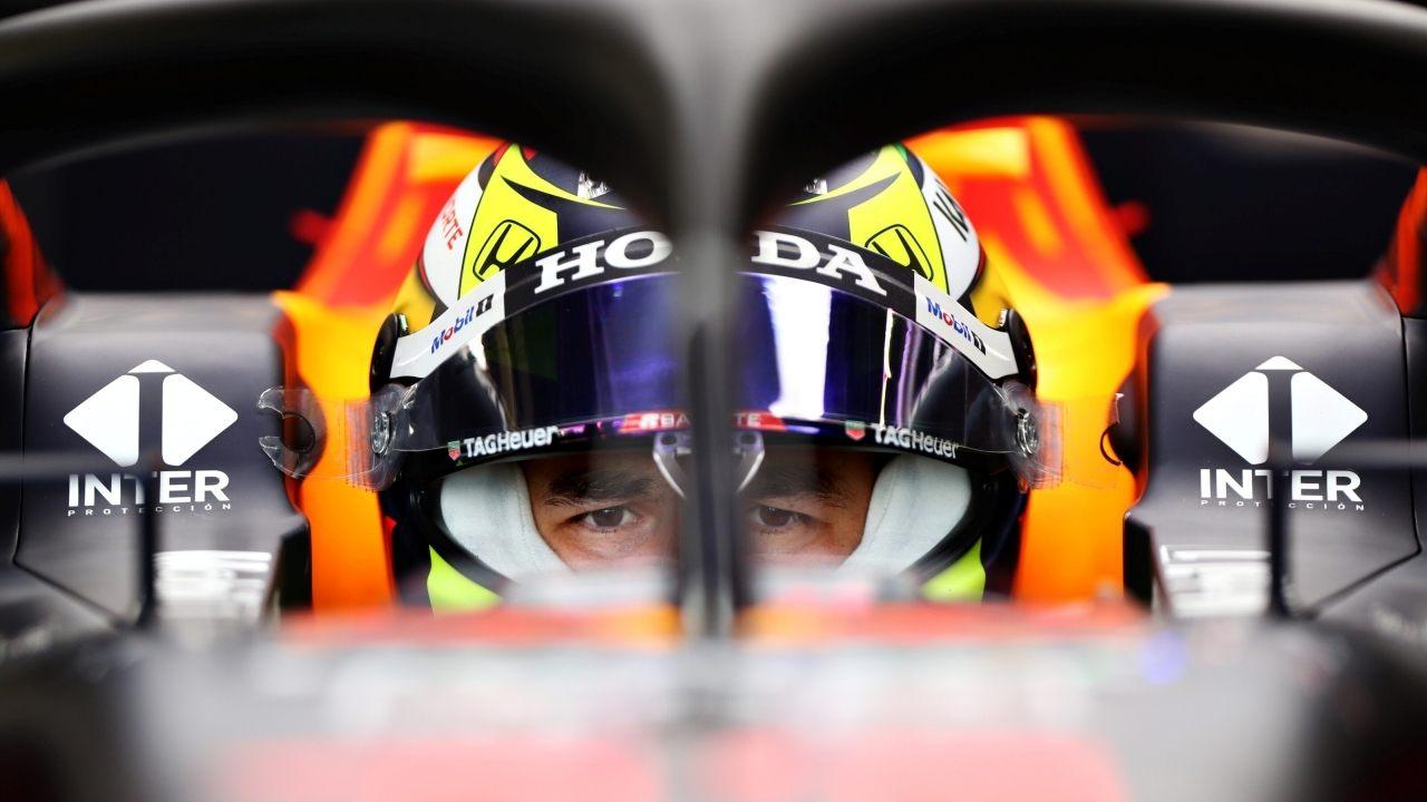 El primer día de Sergio Pérez en el Red Bull RB16B: «Ya veo potencial»