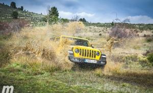 Prueba Jeep Wrangler Rubicon, Ave César