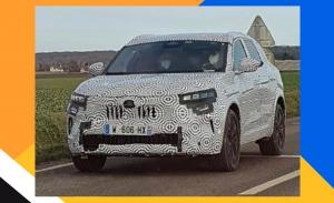 ¡Cazado! El esperado nuevo Renault Kadjar 2022 posa en un par de fotos espía
