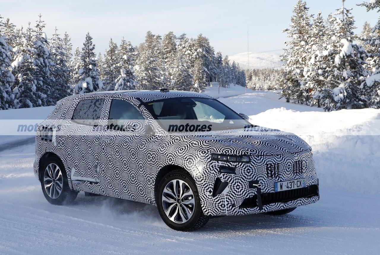 Foto espía Renault Kadjar 2022 - exterior