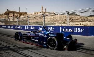 Robin Frijns se hace con una atípica pole en el ePrix de Ad-Diriyah