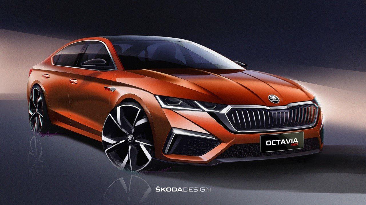 El nuevo Skoda Octavia Pro para China sale a la luz en unos bocetos oficiales